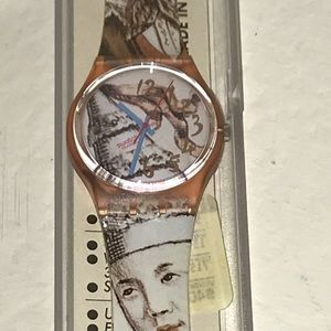 1993 MASQUERADE GP105 SWATCH WATCH RARE